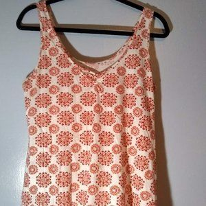 White and red Sleeveless Gap